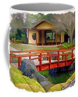 Do-00006 Cypress Bridge And Tea House Coffee Mug by Digital Oil