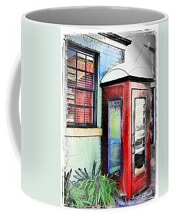 Do-00091 Telephone Booth In Morpeth Coffee Mug by Digital Oil