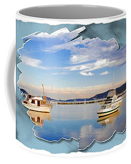 Coffee Mug featuring the photograph Do-00115 Boats In Gosford by Digital Oil