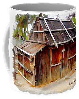 Coffee Mug featuring the photograph Do-00129 Old Cottage by Digital Oil