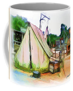 Coffee Mug featuring the photograph Do-00139 Tent by Digital Oil
