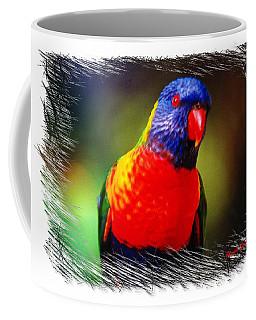 Do-00153 Colourful Lorikeet Coffee Mug by Digital Oil
