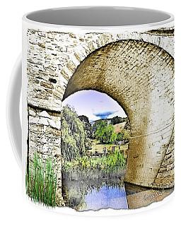 Coffee Mug featuring the photograph Do-00262 Richmond Bridge by Digital Oil