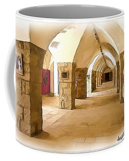Do-00324 Beiteddine Gallery Coffee Mug by Digital Oil