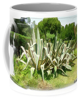 Coffee Mug featuring the photograph Do-00335 Plant Bois Des Pins by Digital Oil