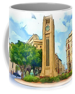 Do-00358 The Clock Tower Coffee Mug by Digital Oil