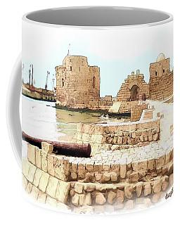 Do-00423 Citadel Of Sidon Coffee Mug by Digital Oil