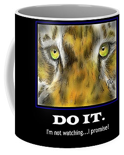 Do It Motivational Coffee Mug by Darren Cannell