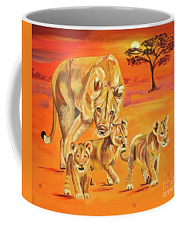 Coffee Mug featuring the painting Do What Mom Says by Phyllis Kaltenbach