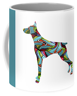 Doberman Spirit Glass Coffee Mug