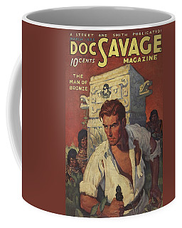 Doc Savage The Man Of Bronze Coffee Mug