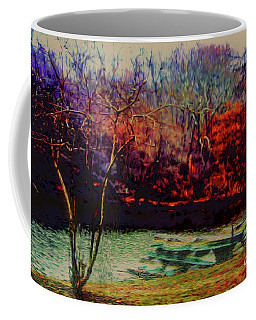 Coffee Mug featuring the photograph Dock At Central Park by Sandy Moulder