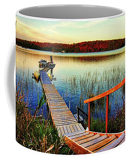 Dock At Gawas Bay Coffee Mug