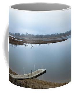 Dock On A Serene Lake Coffee Mug