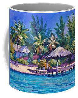 Dock With Thatched Cabana Coffee Mug