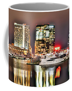 Docked By The Harbor Coffee Mug