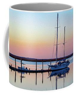 Docked On Jekyll Island Coffee Mug