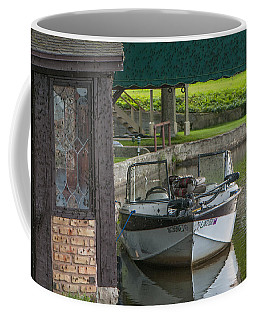 Docking Mayflies Coffee Mug