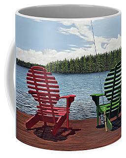 Dockside Coffee Mug by Kenneth M  Kirsch