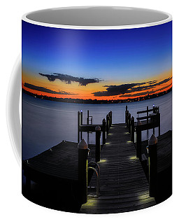 Dockside Sunset Coffee Mug