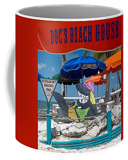 Doc's Beach House On Bonita Beach Coffee Mug