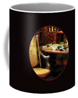 Coffee Mug featuring the photograph Doctor - Doctor's Office by Susan Savad