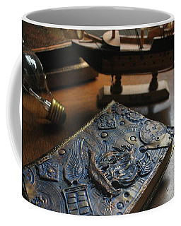 Doctor Who Steampunk Journal  Coffee Mug by Reina Resto