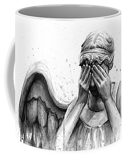 Doctor Who Weeping Angel Don't Blink Coffee Mug