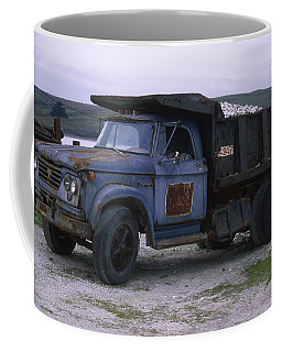Dodge 700 Dump Truck - Johnson Oyster Company Coffee Mug