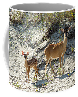 Doe And Fawn Coffee Mug