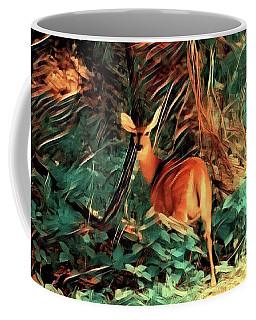 Doe In The Woods Coffee Mug