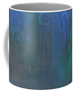 Coffee Mug featuring the painting Does God Have A Mother by Min Zou