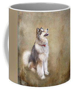 Coffee Mug featuring the digital art Master Of The Domain by Colleen Taylor