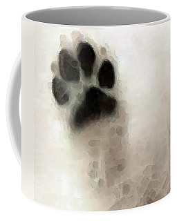 Dog Art - I Paw You Coffee Mug