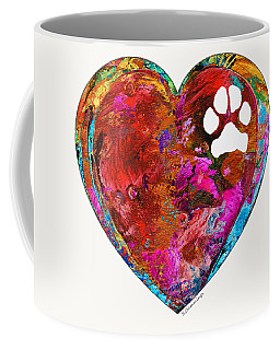 Dog Art - Puppy Love 2 - Sharon Cummings Coffee Mug