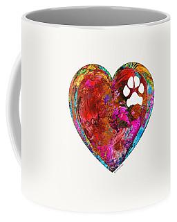 Dog Art - Puppy Love 2 - Sharon Cummings Coffee Mug