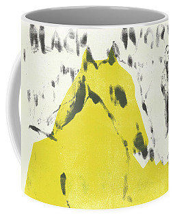 Dog At The Beach - Black Ivory 2 Coffee Mug