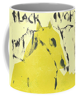 Dog At The Beach - Black Ivory 4 Coffee Mug