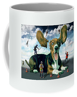 Dog Construction Coffee Mug
