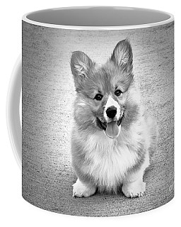 Puppy - Monochrome 6 Coffee Mug