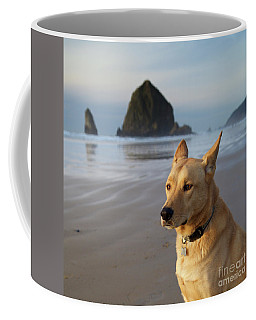Dog Portrait @ Cannon Beach Coffee Mug