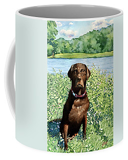 Dog Portrait #1 Coffee Mug