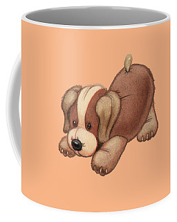 Dog Pounce Coffee Mug