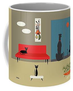 Dog Spies Alien Coffee Mug