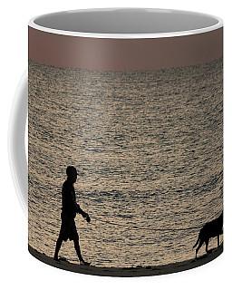 Dog Walker Dawn Delray Beach Florida Coffee Mug
