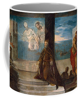 Doge Alvise Mocenigo Presented To The Redeemer Coffee Mug