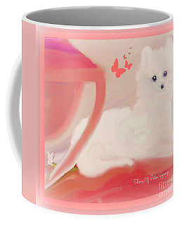 Doggie Art  My Love Coffee Mug