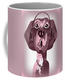 Doggie Singing The Blues Coffee Mug