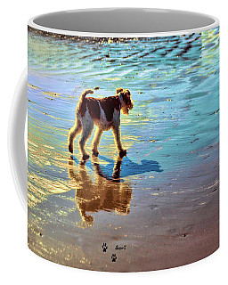Doggone Beachy Day Coffee Mug