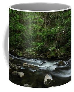 Dogwood Along The River Coffee Mug